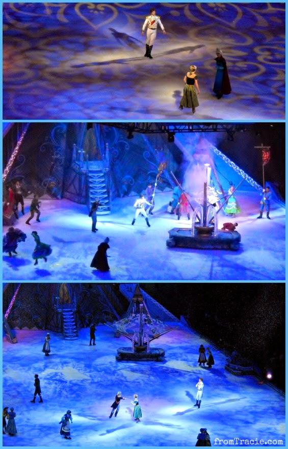 Elsa Uses Her Ice Powers