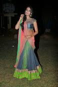 Manasa Glamorous Photos in Half saree-thumbnail-16