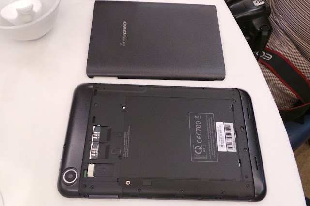 A Quad Core Dual SIM Tablet - Lenovo A1000 | Lenovo A3000