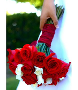 Wedding by Colour White and Red
