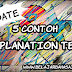 6 Contoh Singkat Explanation Text