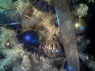 azul y plata para navidad
