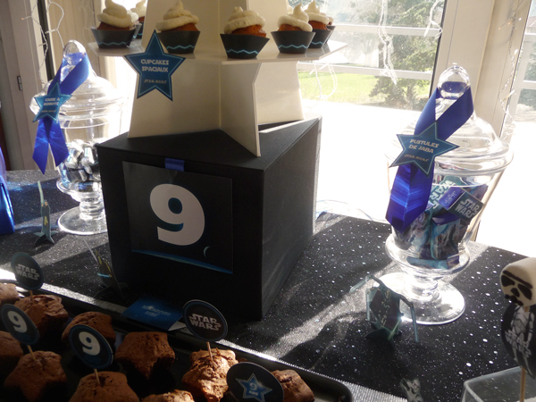 Sweet table - Star Wars - cupcakes toppers