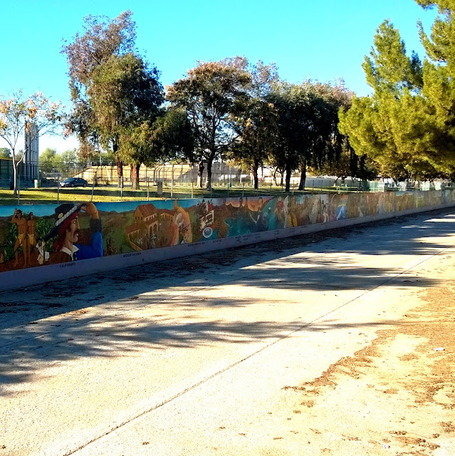 The Great Wall of Los Angeles in the San Fernando Valley