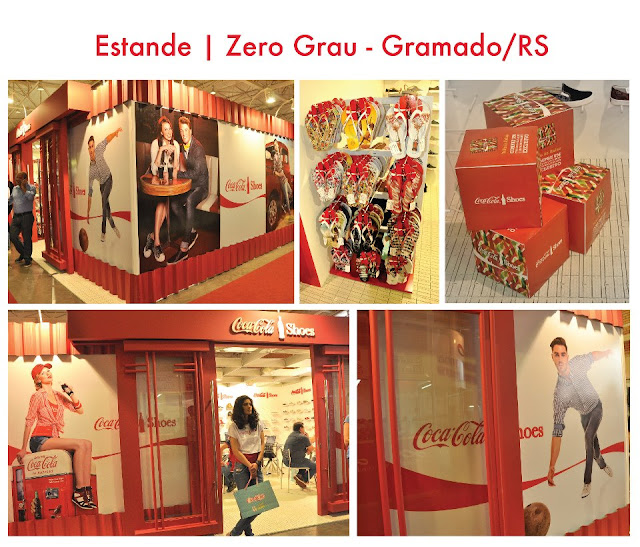 Estande Zero Grau Coca-Cola Shoes