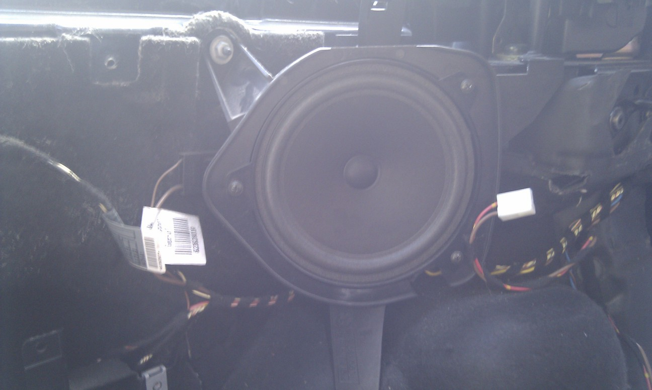 Bmw E Touring Rear Speaker Replacement