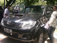 Pengambilan & Pengiriman Mobil Toyota Hilux B 9792 UBA Tujuan Banjarmasin
