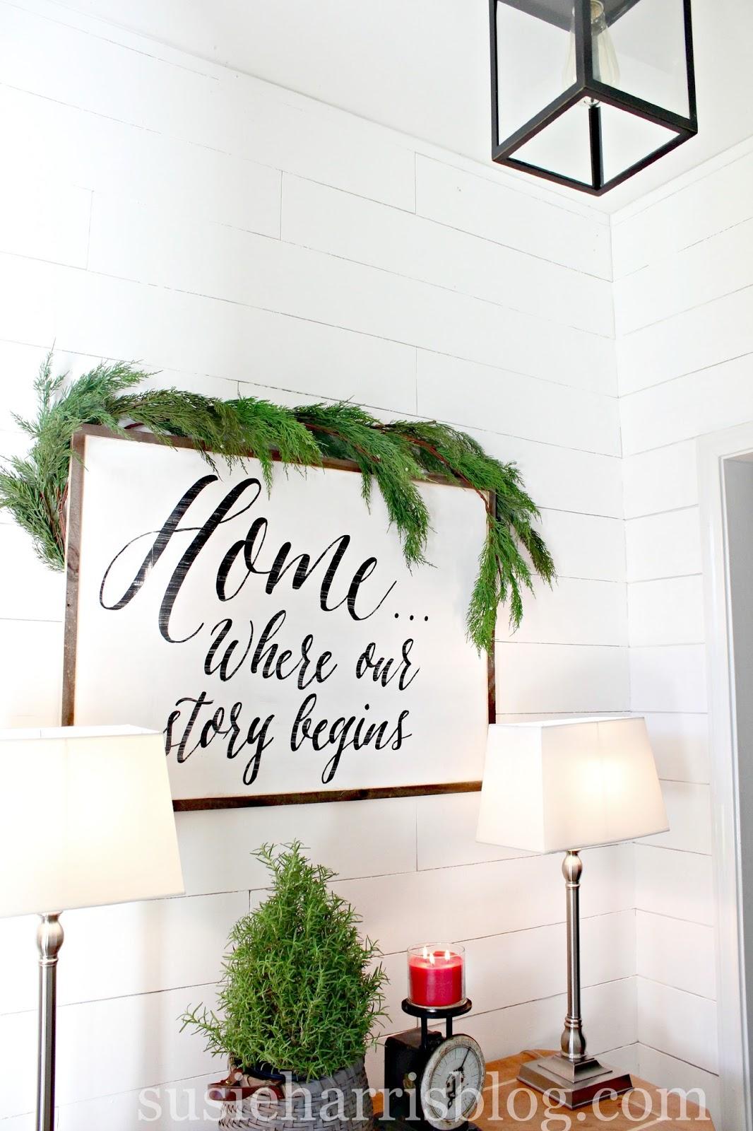 Susie Harris: The Harris Holiday Home Tour