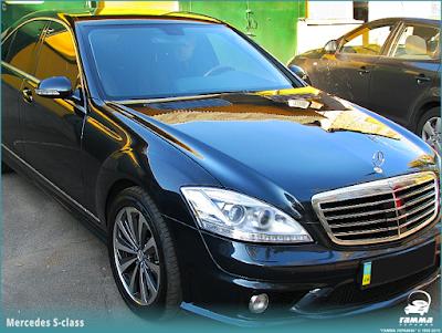 Хром для Mercedes S-класса