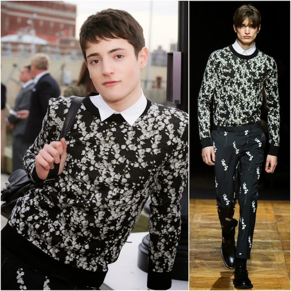 Harry Brant in Dior Homme - Christian Dior Cruise 2015 Show, Brooklyn