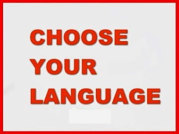 CHOSSE your LANGUAGE.