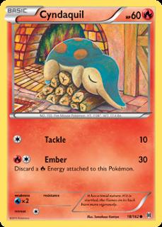 Cyndaquil BREAKthrough Pokemon Card