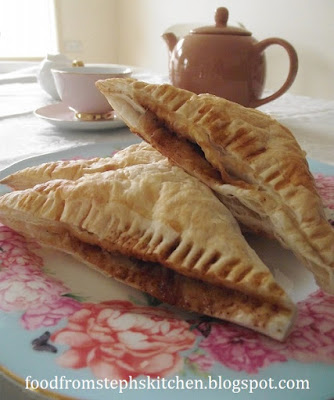 Apple and cinnamon turnovers - Steph's Kitchen