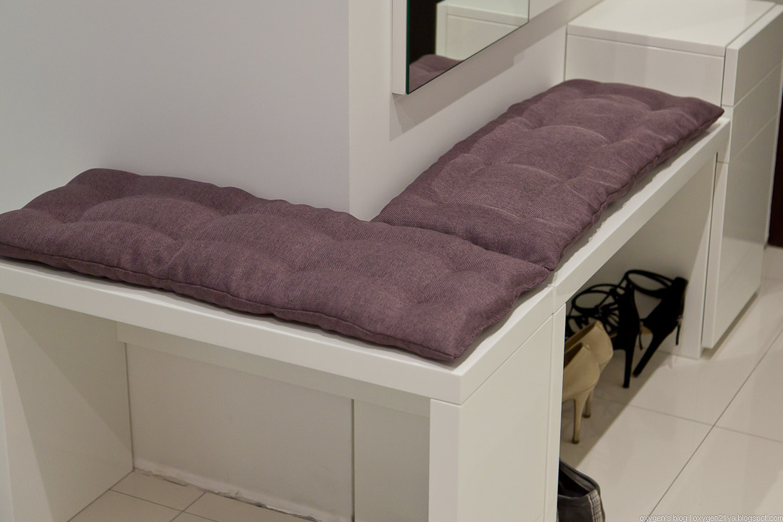 Своими руками подушки на скамейки 3