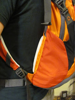 Shoulder Straps in Hydration Pack