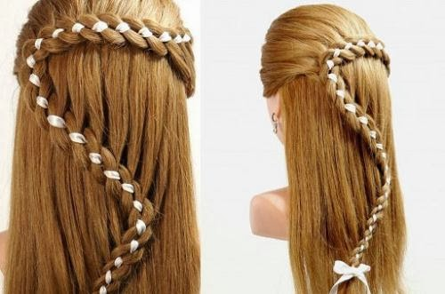 Lastly, Add A Gold Clip If You Have On The Crown To Add More Polish. Some  Easy Hairstyles For Long Hair: