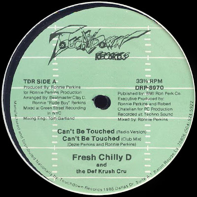 Fresh Chilly D And Def Krush Cru, The – Can't Be Touched / Do It, Do It (1989, 12'') – VBR