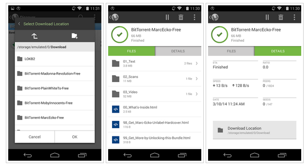 download utorrent pro apk for android