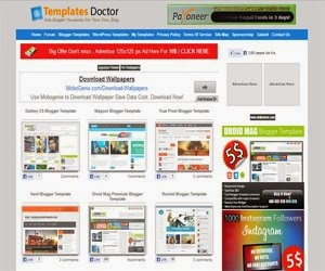 Templates Doctor Blogger Template