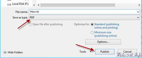 Chỉnh sửa tài liệu PDF trong Microsoft Word 2013