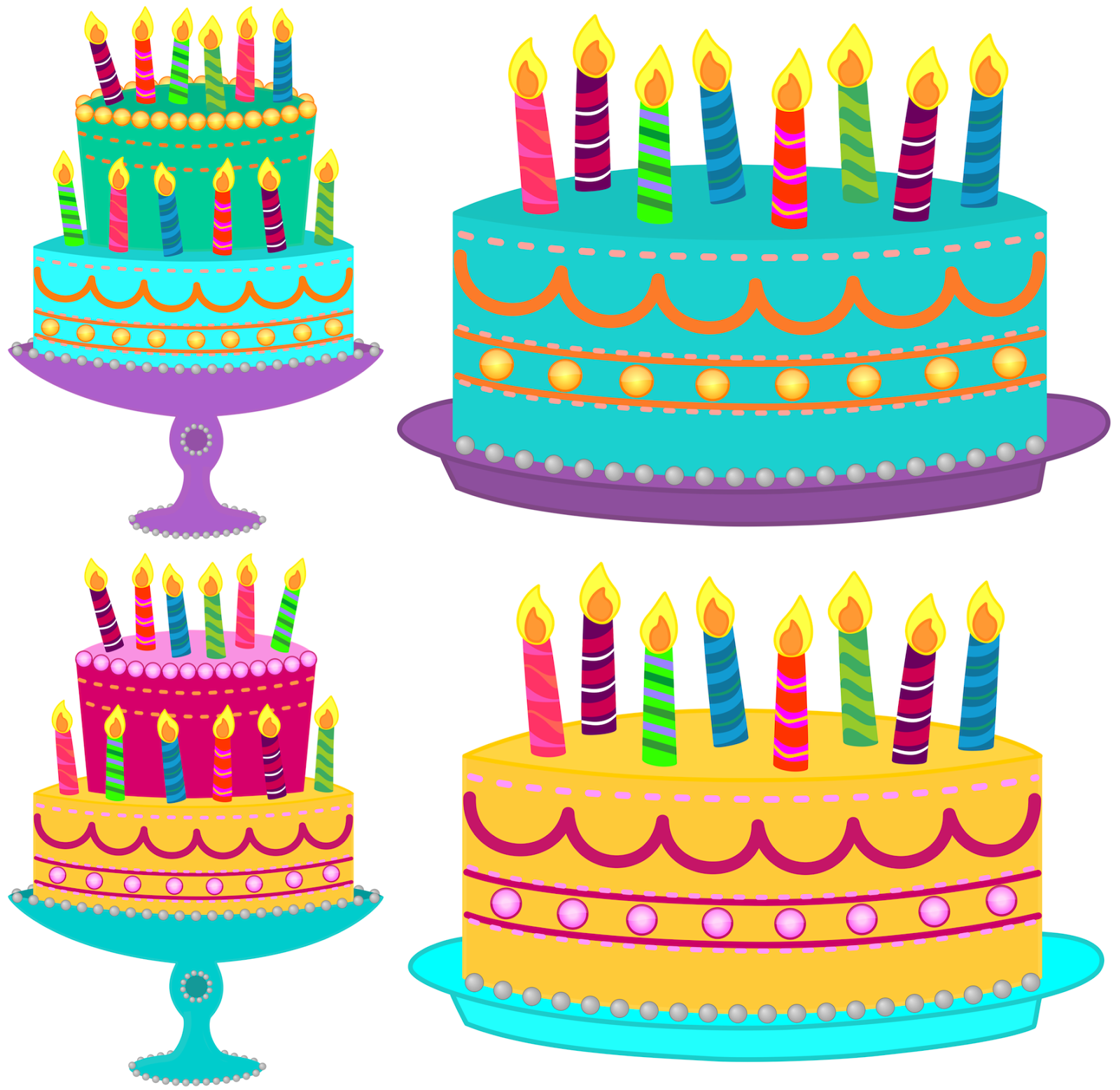 Clip Art Birthday Cake Clipart classroom treasures birthday cake clipart