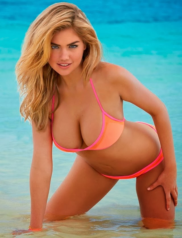 Kate Upton en Sports Illustrated Swimuit Issue 2014