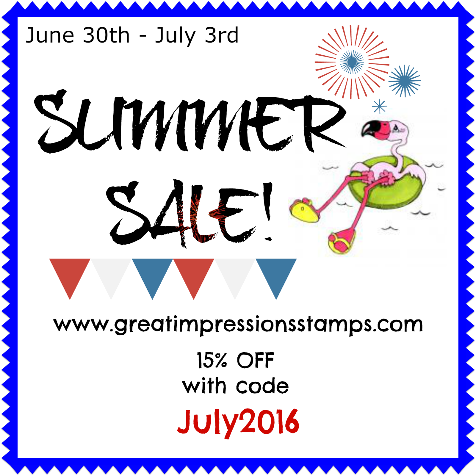 Summer Stamp Sale