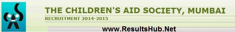 Children's Society Mumbai Provisional Selection List