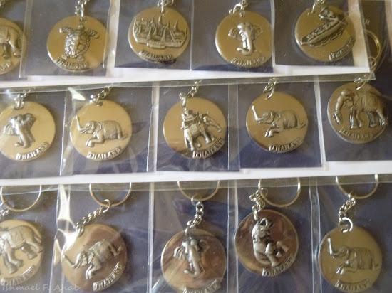 Thailand souvenir - Thai key chain