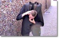 Pegadinha do homem sem cabeça