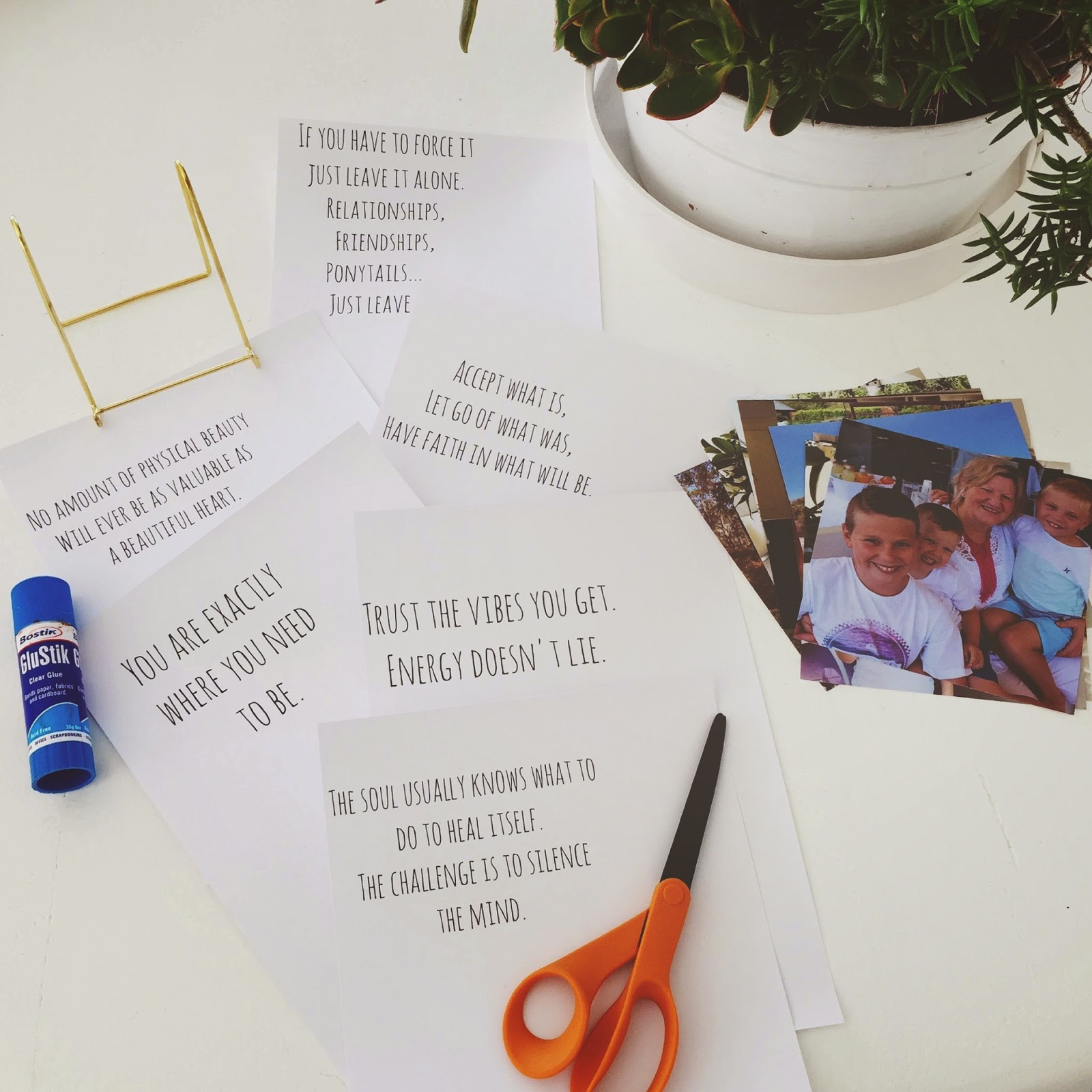 honey and fizz: Mother\'s Day Gift DIY - family photo blocks + ...