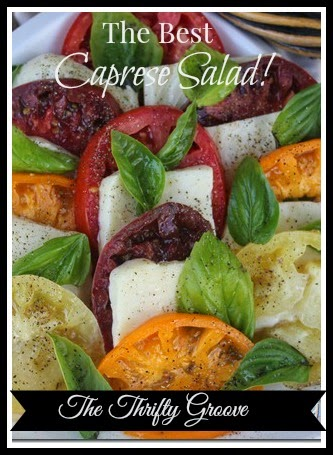 The Best Caprese Salad!