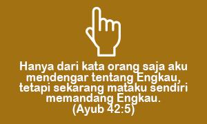 Langsung Mengenal Allah