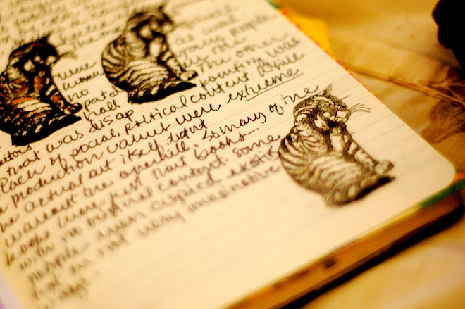 cat journal page