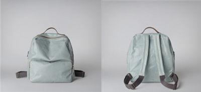 Ally Capellino Billy backpack mint, black, white