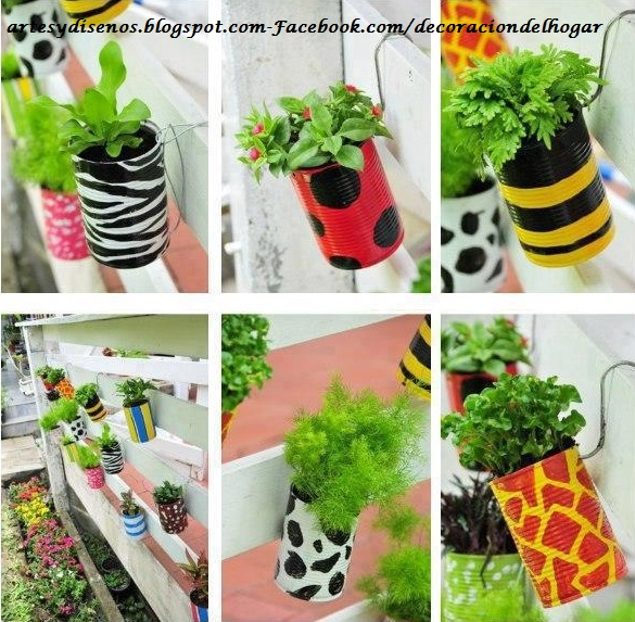 Macetas creativas y novedosas para plantas decoraci n for Como decorar interiores