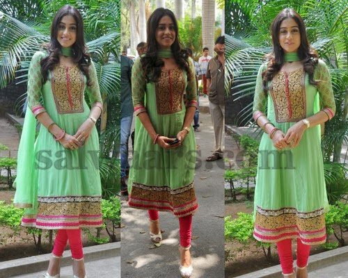 Regina Light Green Salwar