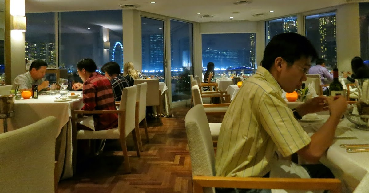 My Travel Food Esperienza Dining At The Lighthouse The Fullerton Hotel