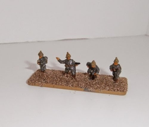 Painting German Infantry