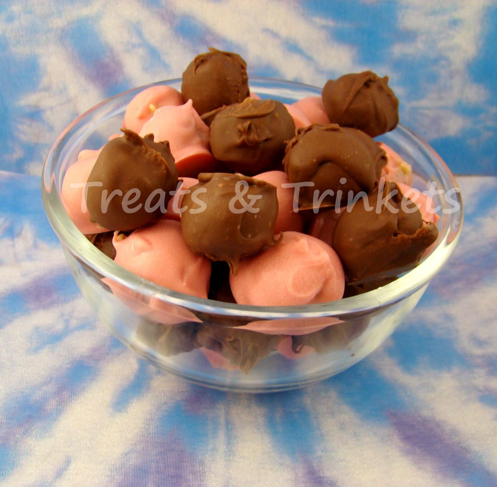 Chocolate Chips Coating Cake Balls