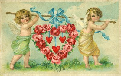"""Résultat de recherche d'images pour """"saint valentin vieille carte"""""""