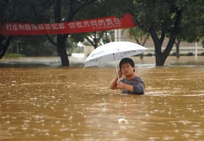 INUNDACIONES CHINA, 21 MUERTOS, 04 DE ABRIL 2014