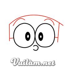 Hướng Dẫn Cách Vẽ Nobita đơn Giản Hình Chính Diện