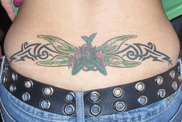 Tattoo designs and ideas lower back tattoo designs for women for Tattoos lower back female designs