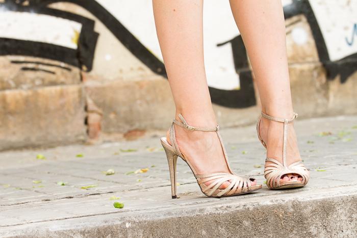 Tendencias Zapatos Nueva Temporada Metálicos Oro Colección Blogger Adicta a los Zapatos