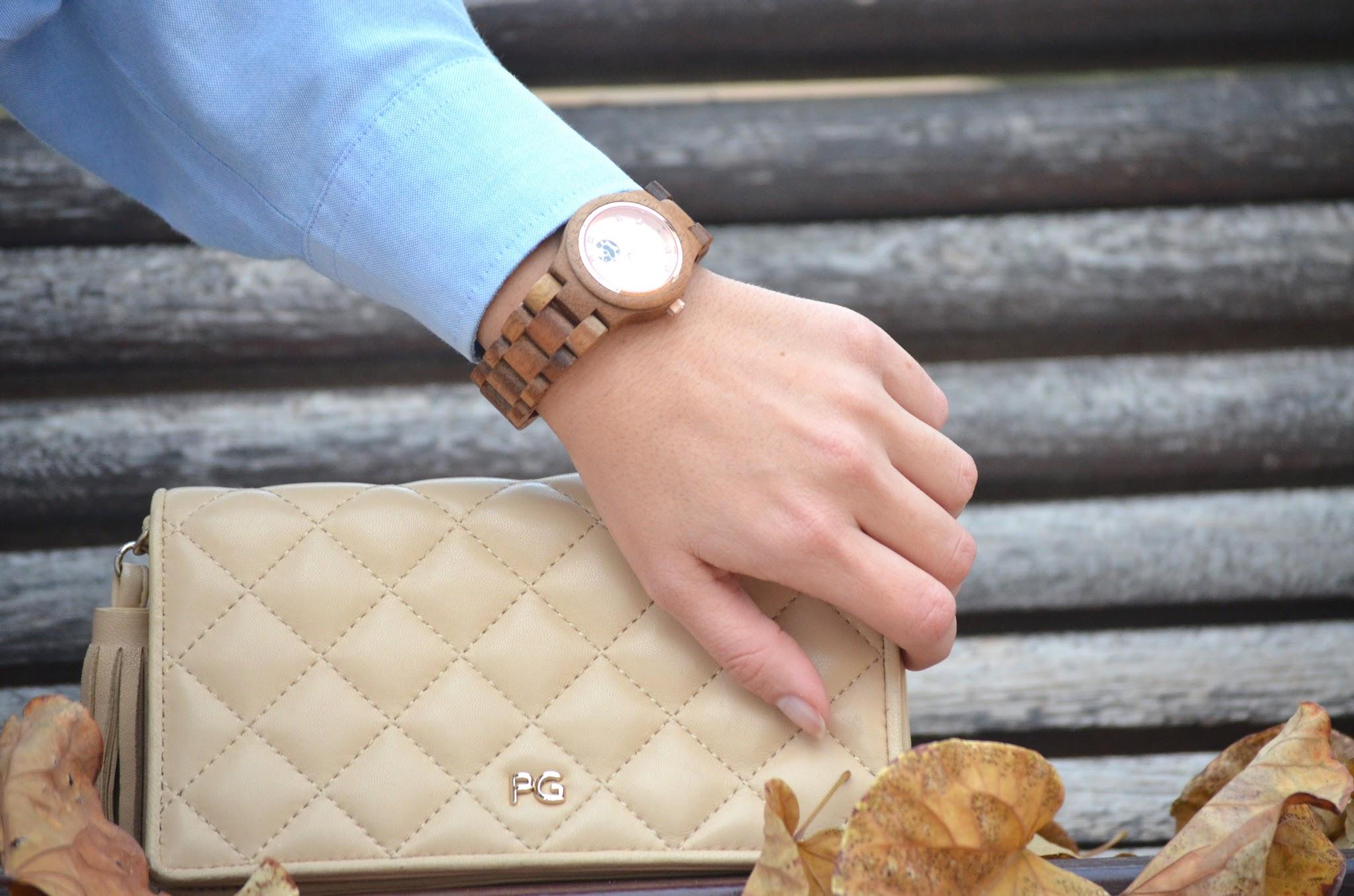 Reloj-Watch JORD + Bolso Purificación García