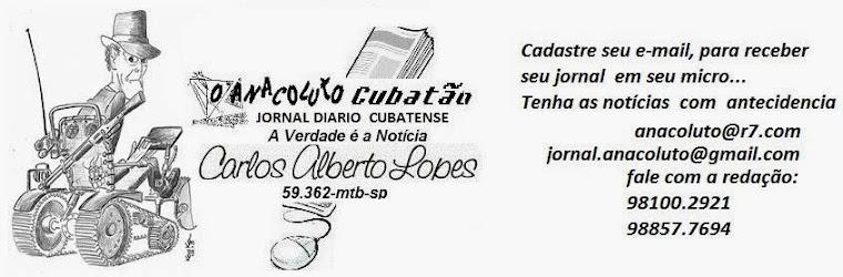 ANACOLUTO DE CUBATÃO