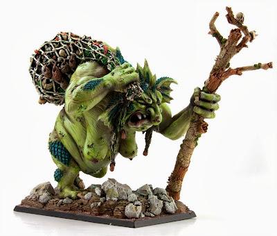 Bruja Troll gigante de río
