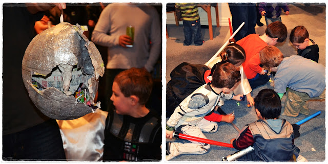 star wars kids party games