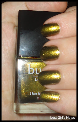 butter London Wallis swatches and review